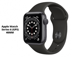 iWatch Series 6 (GPS) 40mm - Space Gray